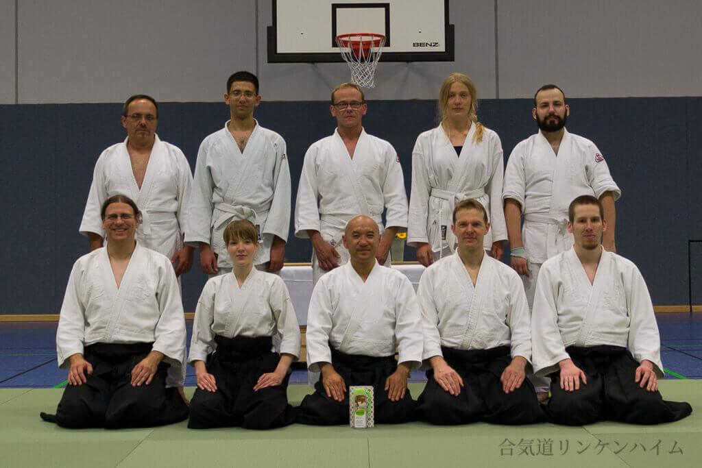 Aikido-Lehrgang Kuroki-sensei 2018