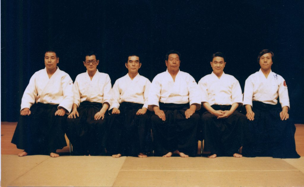 Participants of First Aikido Friendship Demonstration 1985