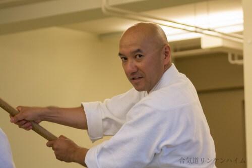 Takashi Kuroki Sensei, 6. Dan Aikido